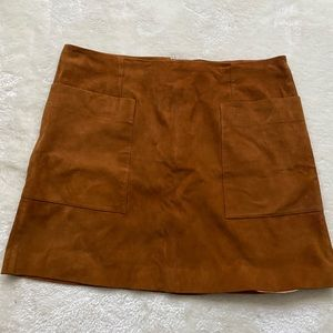 Dresses & Skirts - Banana Republic size 14 suede skirt
